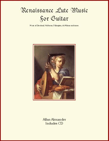 Renaissance Lute Music for Guitar Book/CD